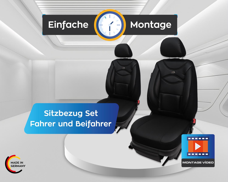 Mesure Sitzbezüge MERCEDES CLASSE M w164 conducteur /& passager à Partir De fb:d104