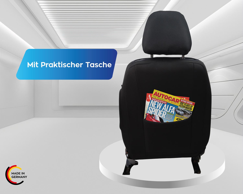Mercedes B Klasse W245 Maß Schonbezüge Sitzbezüge Fahrer /& Beifahrer G10219