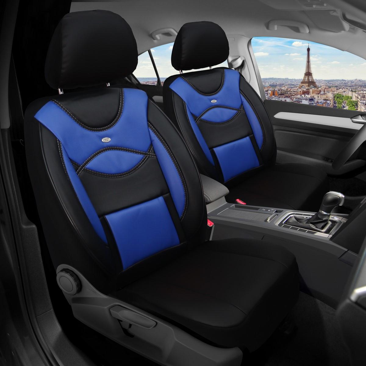 Audi A4 B8 2008-2015 MAß Schonbezüge Sitzbezüge Fahrer /& Beifahrer 902