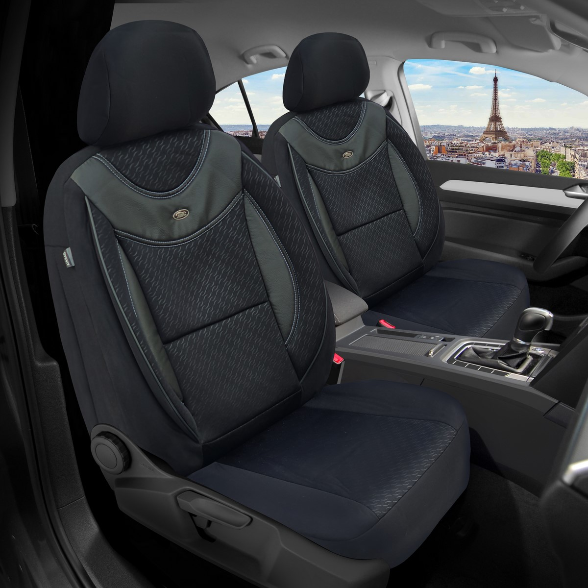 Maß Sitzbezüge Lexus CT 200h Fahrer /& Beifahrer ab 2010 FB:G102