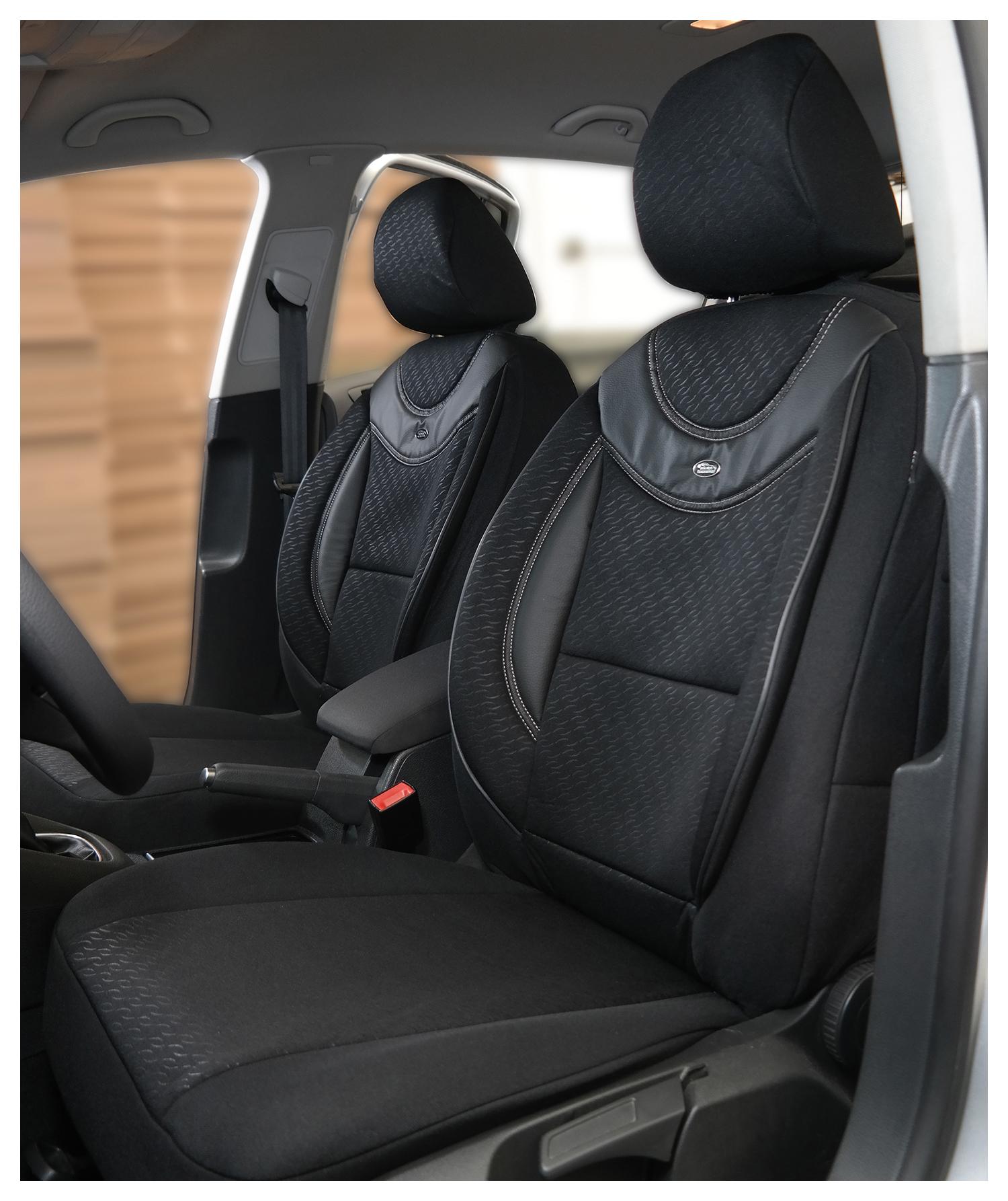 SUZUKI Vitara ab Bj 2015 Maß Sitzbezüge Schonbezüge  Fahrer /& Beifahrer g102